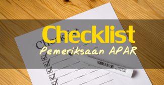 form checklist APAR