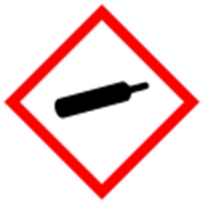 simbol b3 gas bertekanan