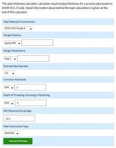 Bagaimana Cara Menghitung Tebal Minimum Pipa