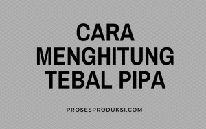 ketebalan minimum pipa