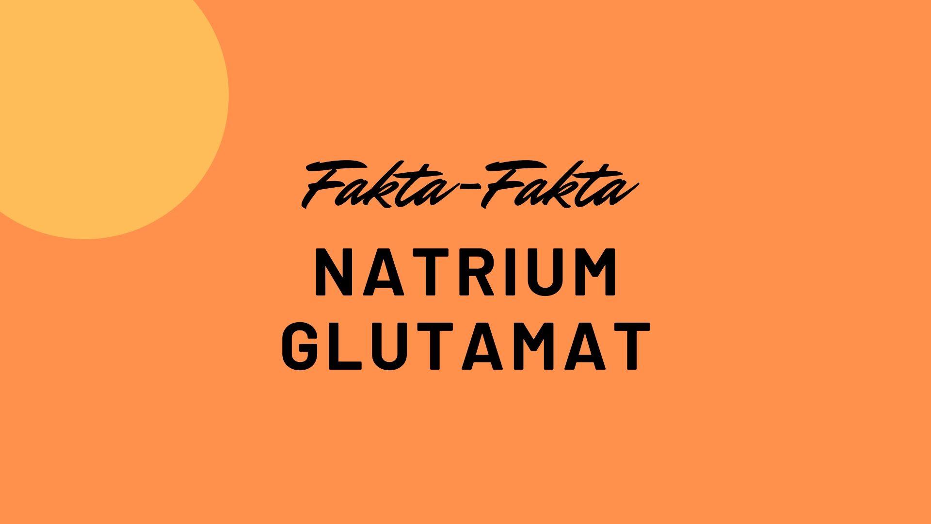 natrium glutamat