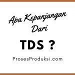 kepanjangan TDS